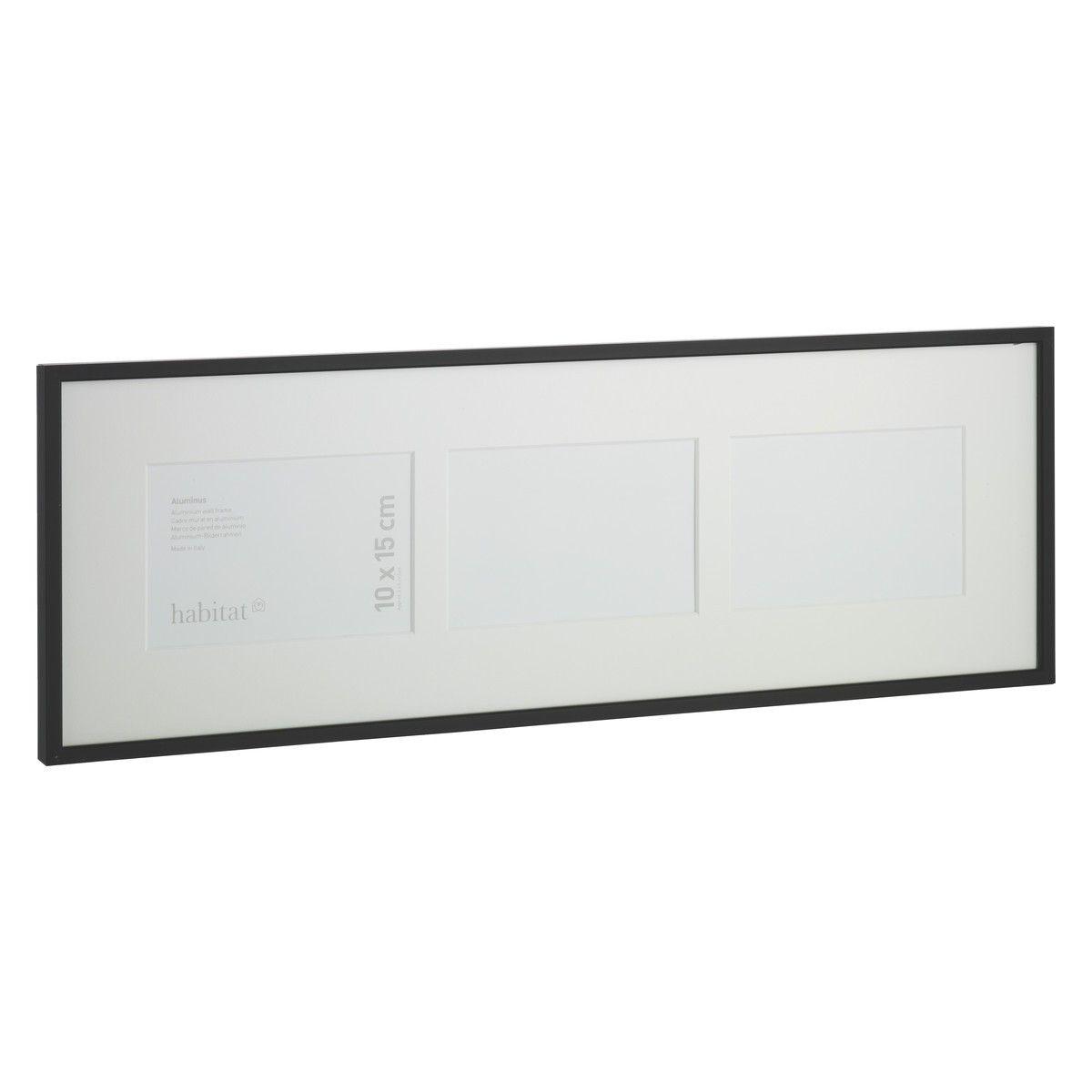 Aluminus 19 X 57cm 7 5 X 22 5 3 Aperture Black Picture Frame Black Picture Frames Black Picture Picture Frames