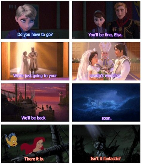 Theory Links 'Frozen,' 'The Little Mermaid,' & 'Tangled,' Will Make You Look At Disney Differently