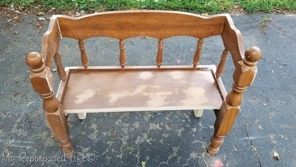 Fantastic Child Bench Made From Reclaimed Bed Projects To Try Diy Inzonedesignstudio Interior Chair Design Inzonedesignstudiocom