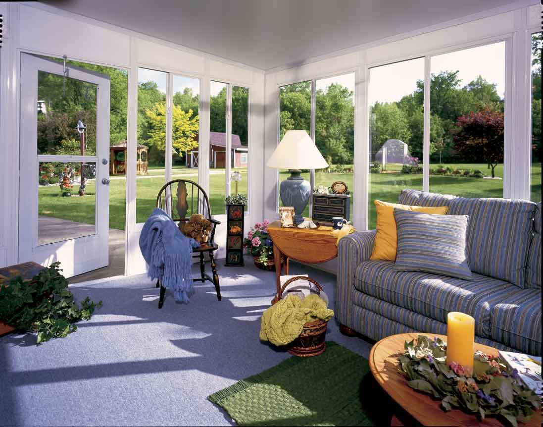 Dazzling interior design with sunroom glass replacement for Sunroom interior designs