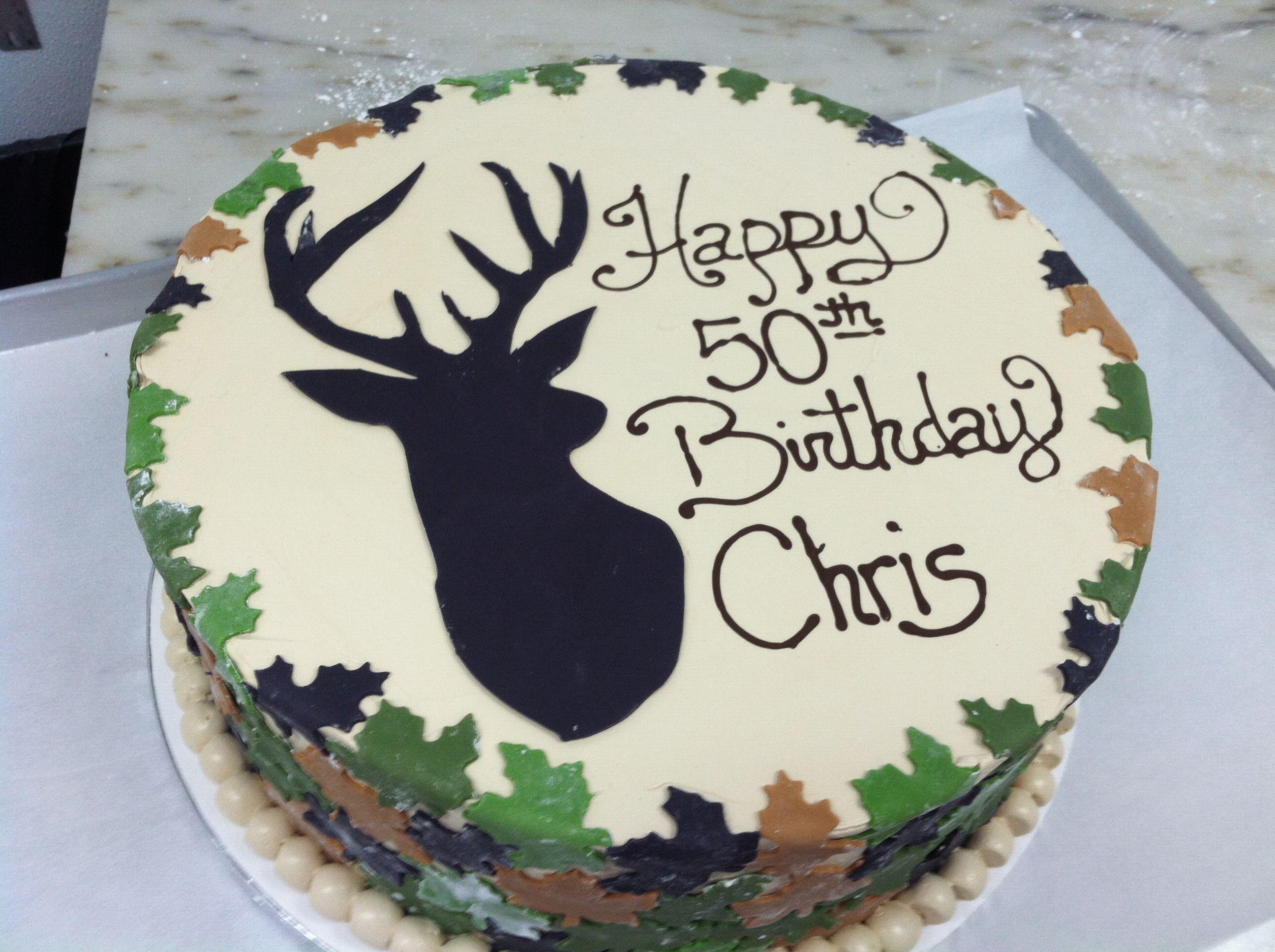Deer Silhouette Cake For The Kiddos Pinterest Cake Birthday