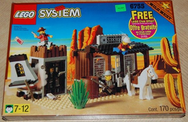 Set 6755-1 : Sheriff's Lock-Up [Western:Cowboys] - BrickLink ...