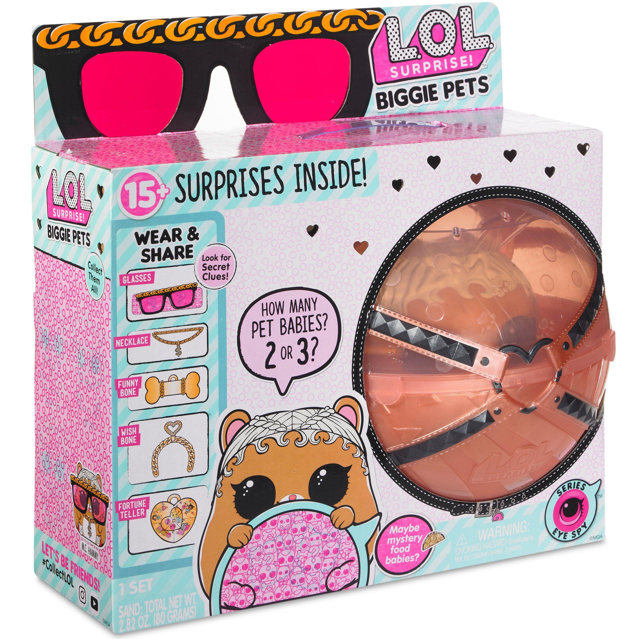 L O L Surprise Duze Zwierzatko Chomik Seria Eye Spy Brykacze Pl Internetowy Sklep Z Zabawkami Dla Dzieci Lol Pets American Girl Doll Sets