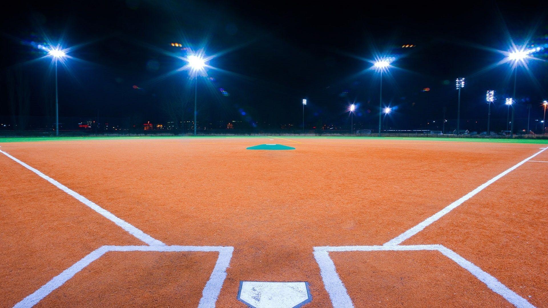 X Baseball Stadium Lighting Night