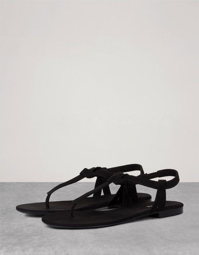 Flat Sandals - WOMAN - SHOES - Bershka