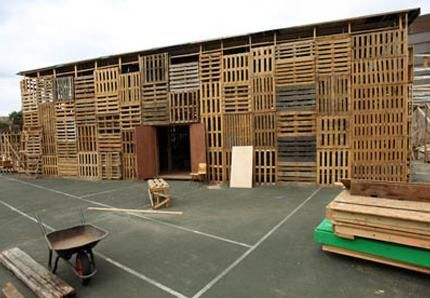 Architecture A La Gloire De La Palette  Pallets Architecture And