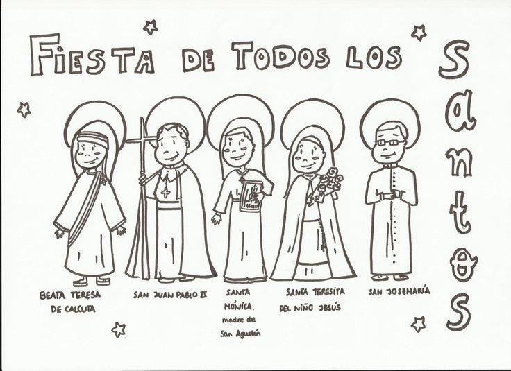 como celebrar el dia de todos los santos con los niños - Buscar con ...