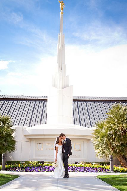 Alex and Chipp Las Vegas Temple