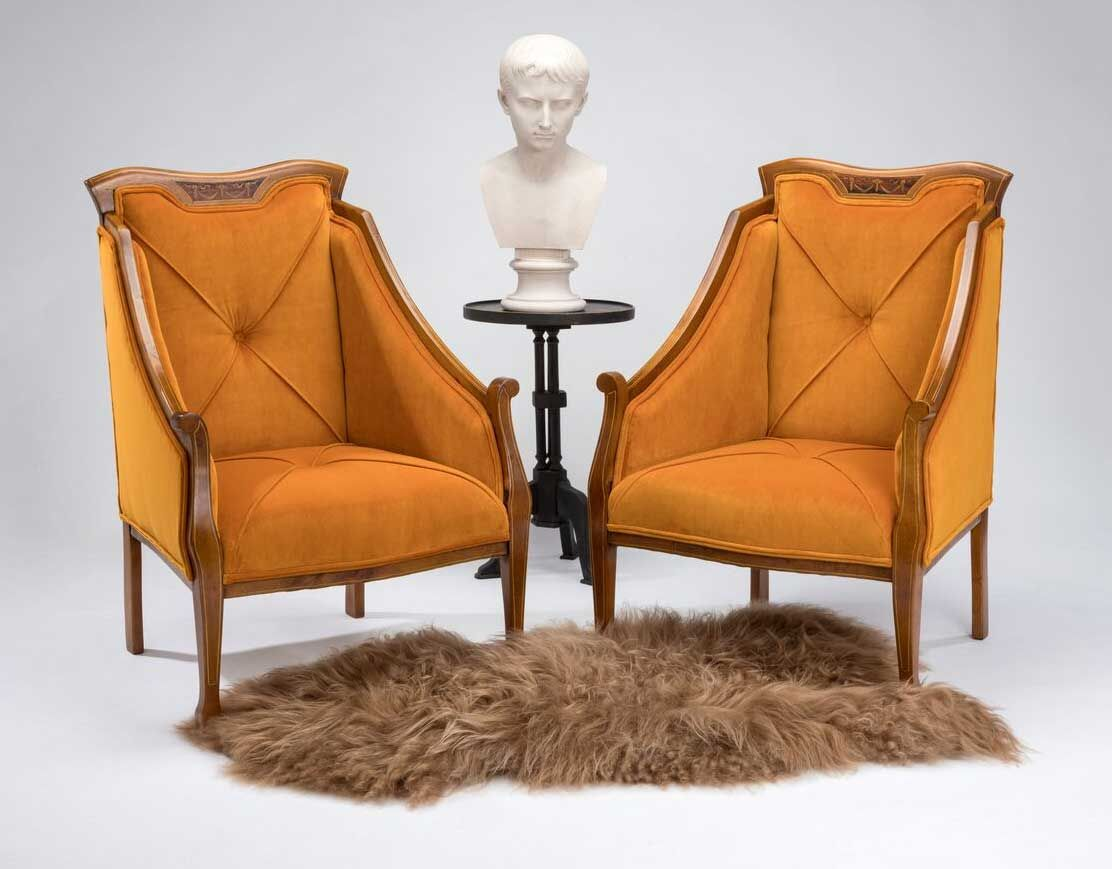 Character armchairs in London | Victorian irons, Armchair ...
