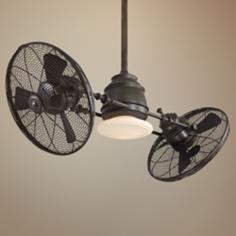 Miraculous 39 Matthews Dagny Bronze Double Headed Ceiling Fan Arts Interior Design Ideas Inamawefileorg