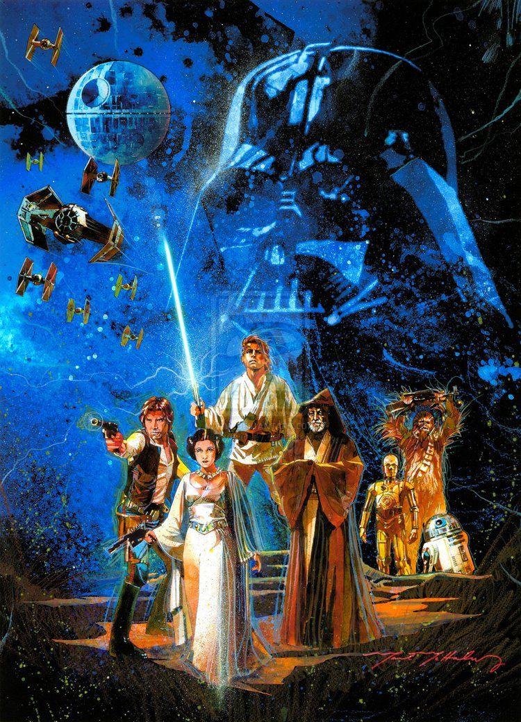Cool Vintage Style STAR WARS Poster Star wars art, Star