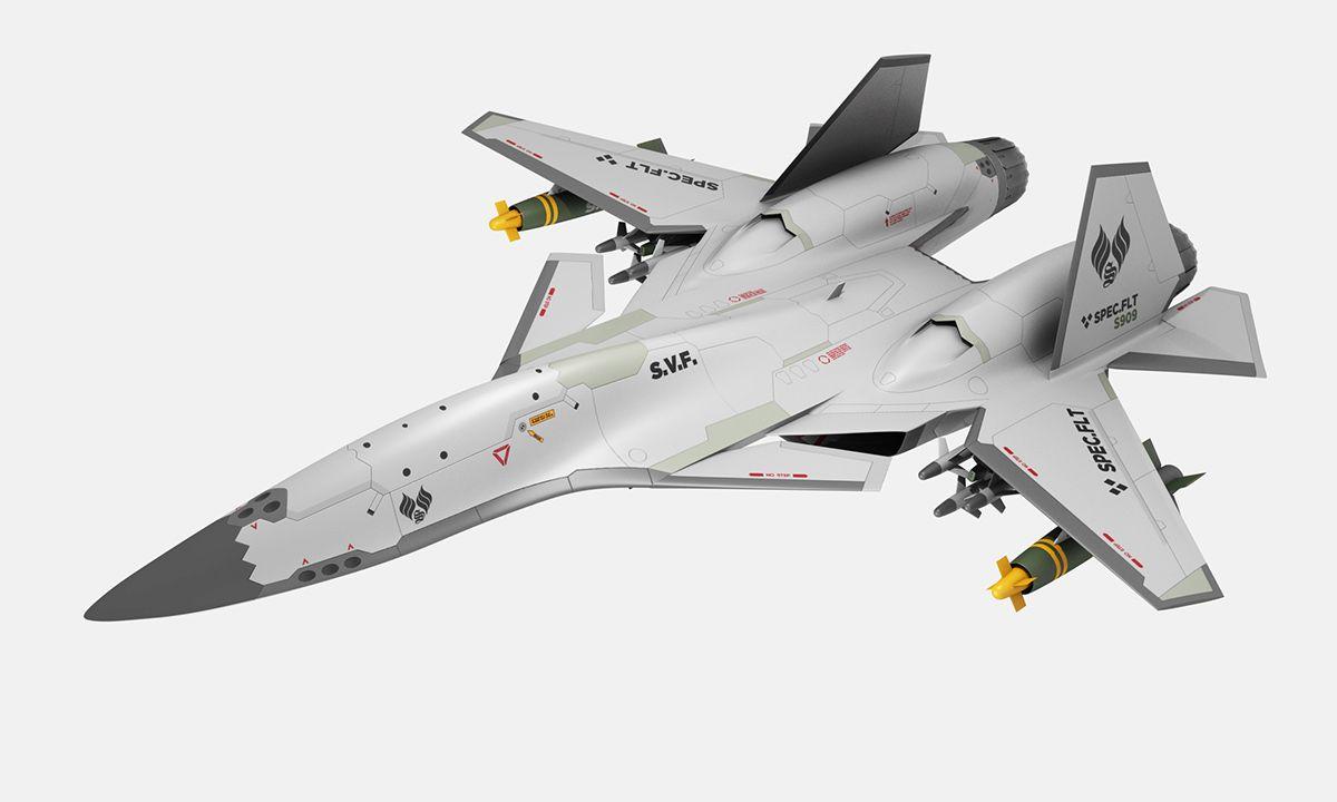 slick jet fighter design by tim zarki mecha design scifi