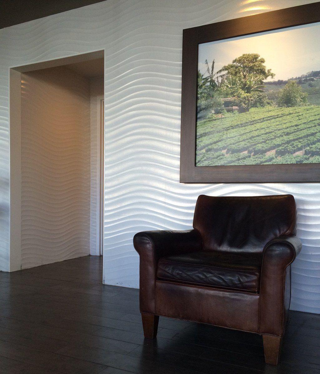 Placas revestimiento de paredes con dise o 3d antihum for Planchas para revestimiento interior