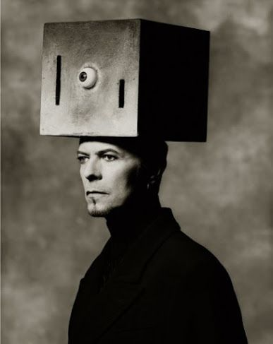 A creative photographic portrait of: David Bowie taken by photographer: Albert Watson in New York City in 1996