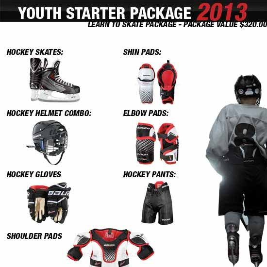 Bauer Youth Hockey Equipment Package Youth Hockey Hockey Equipment Hockey