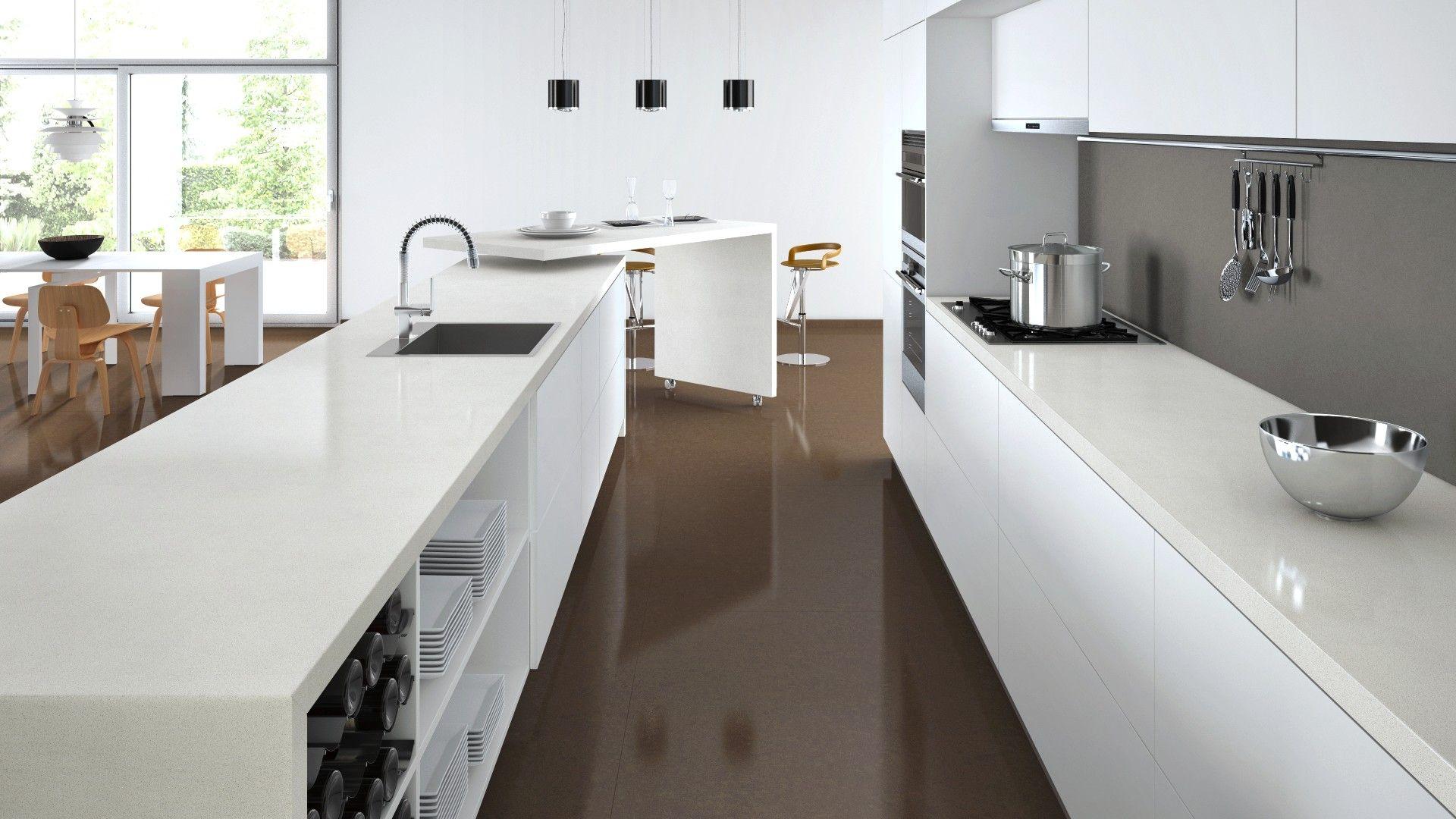 Caesarstone Visualizer - Ocean Foam bench top | Interior Design ...