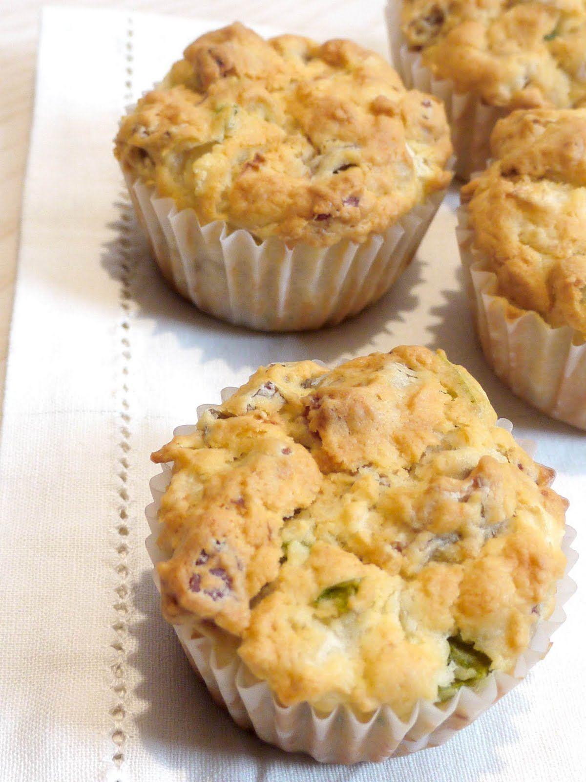 Aliter Dulcia: muffins de jamón y setas