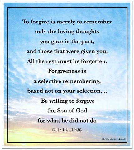 Forgiveness Course In Miracles Miracle Quotes God Prayer