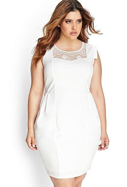Vestidos En Blanco Para Gorditas Tallas Extras En 2019
