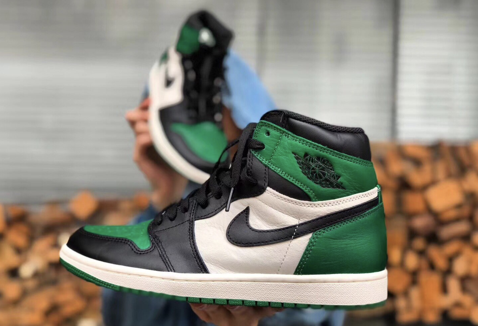 "6976669b941c Air Jordan 1 Retro High OG ""Pine Green"" Code  555088-302 Release Date  Sept  22"