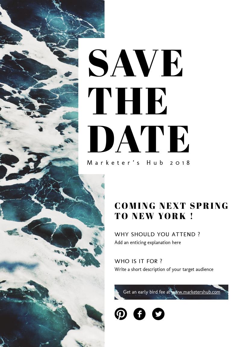 online poster maker event flyer pinterest event poster design