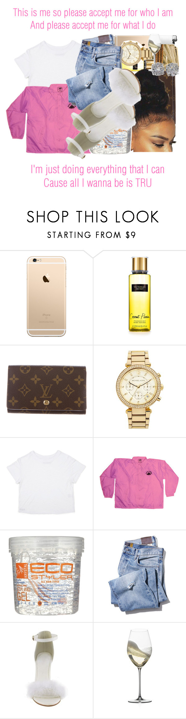 """""""Tru x Lloyd"""" by juicyums ❤ liked on Polyvore featuring Louis Vuitton, MICHAEL Michael Kors, Riedel and Effy Jewelry"""