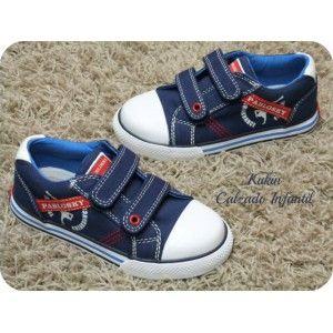 Zapatos niño Loneta azul marino Pablosky