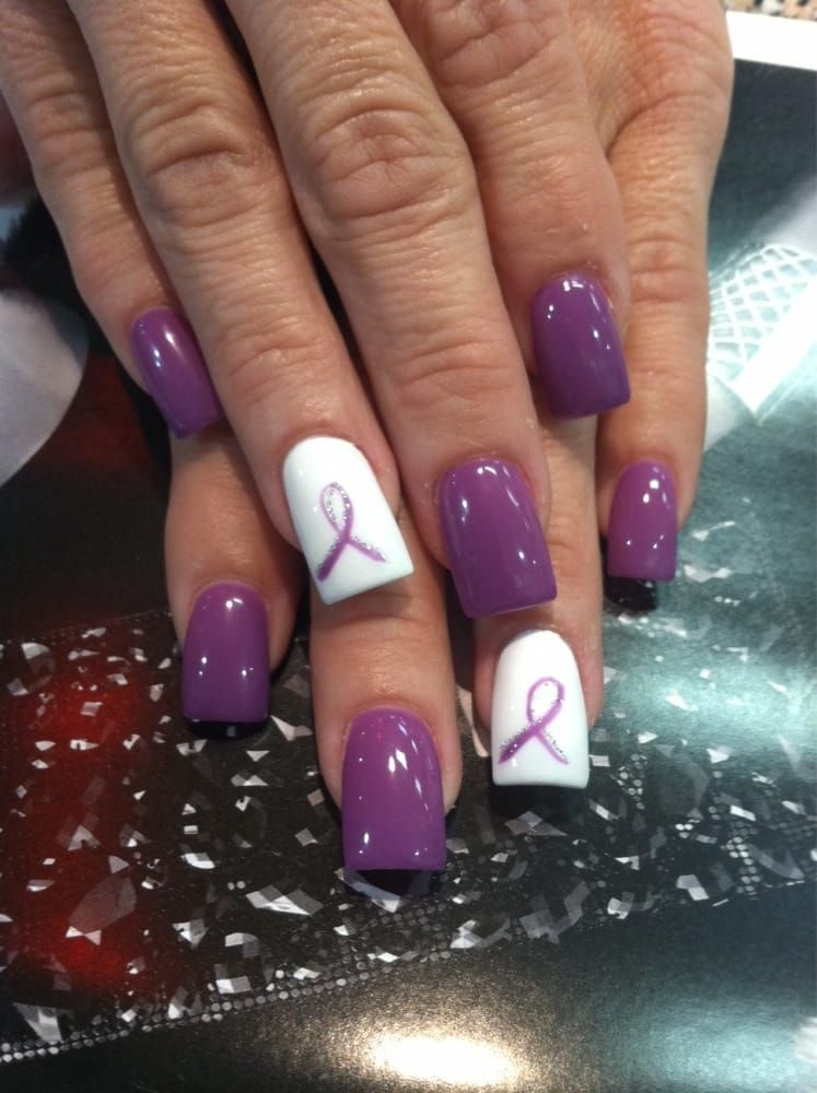 Image Result For Epilepsy Awareness Nails Nails How To Do Nails Pedicure Designs