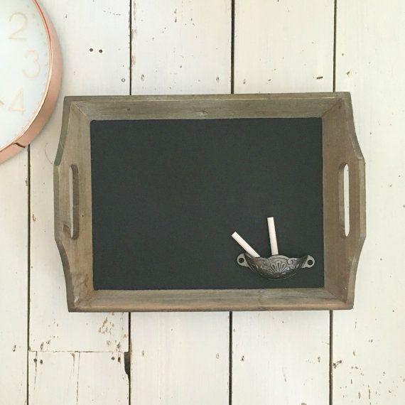 Rustic Chalkboard Chalk Board Framed Chalkboard Blackboard