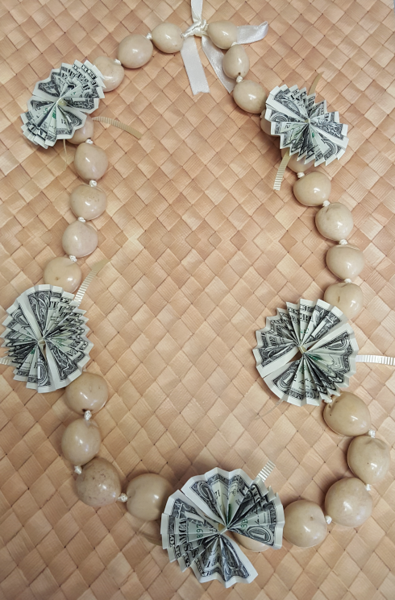 Celebrate your loved one with a Kukui nut lei, with an ...