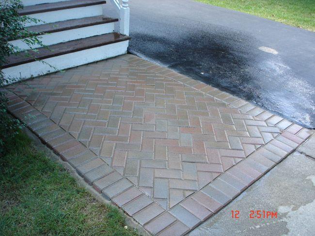 Autumn Red Hollandstone Walkway | patio ideas | Backyard