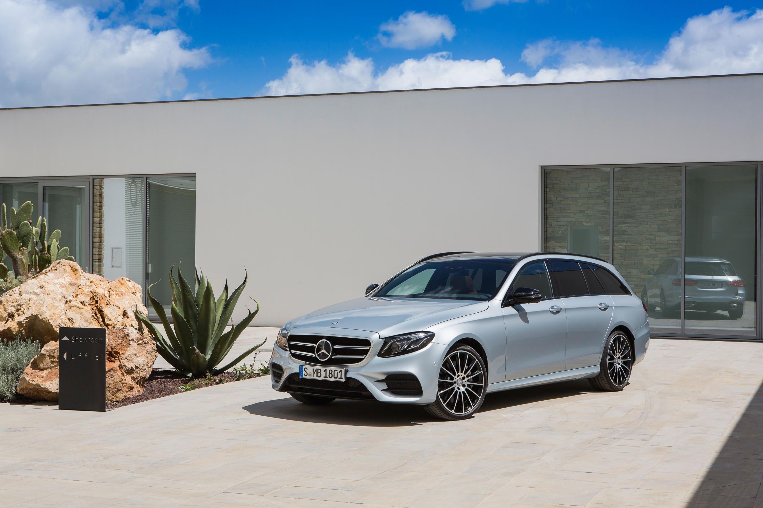 The 2017 Mercedes E Class Wagon Is Their Most High Tech Hatch Yet Mercedes Benz Cars Benz E Benz E Class