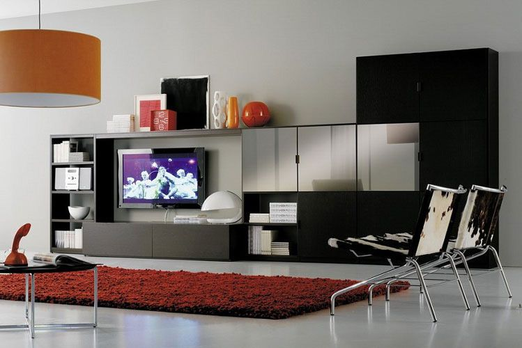 Pleasing Black Wall Cabinets Living Room Bedroom And Living Room Image Largest Home Design Picture Inspirations Pitcheantrous