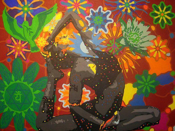 Yoga Art By Karmym