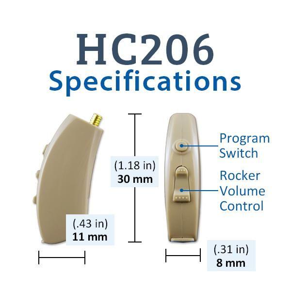 Affordable Hearing Aids >> Hearclear Hc206 Digital Hearing Aid Advanced Affordable