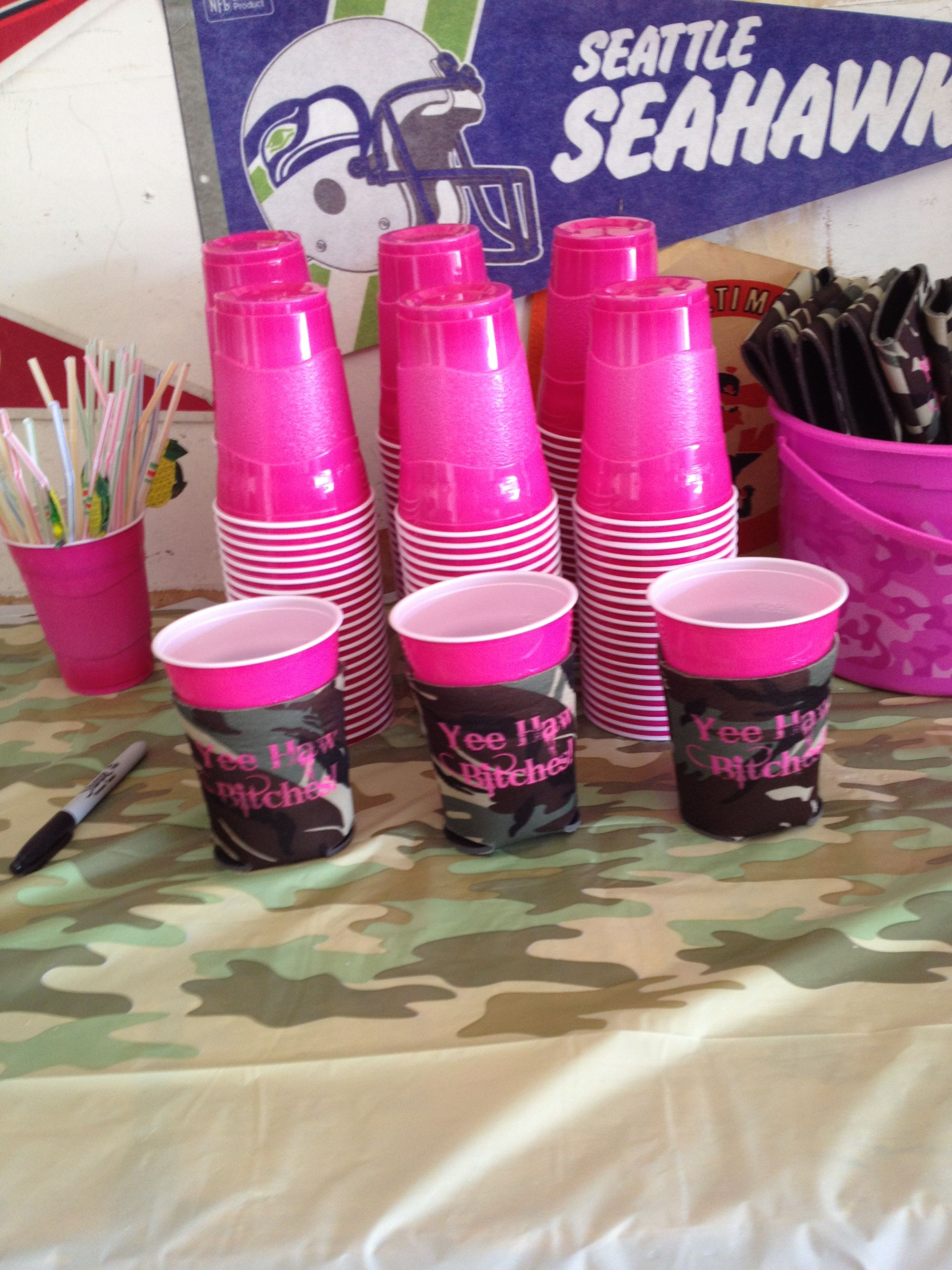 Koozies With Yee Haw Bitches On Them B I R T H D A Y P A R T Y