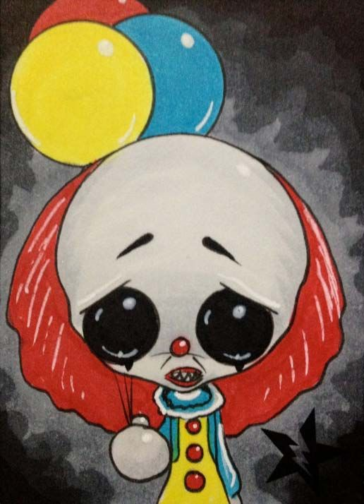 Pennywise the Clown from IT by Michael Banks (Sugar Fueled)
