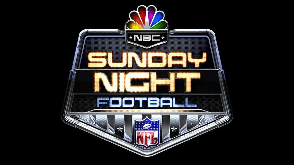 Nbc Sports Sunday Night Football Logo Troika Sunday Night Football Nfl Sunday Sunday Night