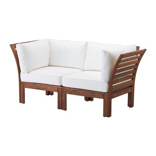 298.00 IKEA - ÄPPLARÖ / KUNGSÖ, 2er-Sofa/außen, , Durch Kombinieren ...