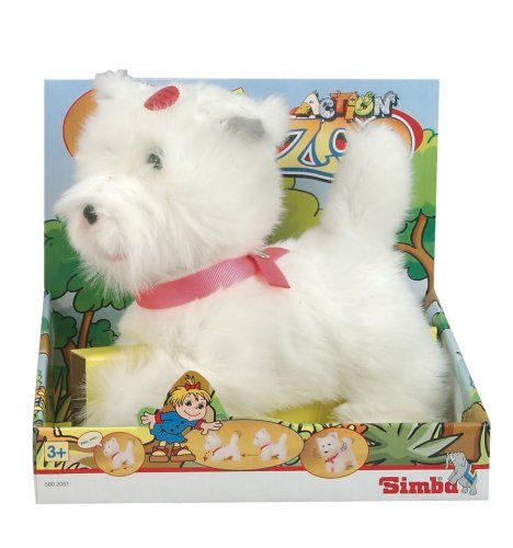 Simba 105802051 - Action Zoo Spiel-Plüsch-Hund, 25 cm Simba http://www.amazon.de/dp/B003QR14NQ/ref=cm_sw_r_pi_dp_LXSJub0WN8APX