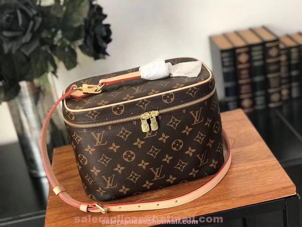Fake Louis Vuitton Nice BB Vanity Case Bag M42265 Louis