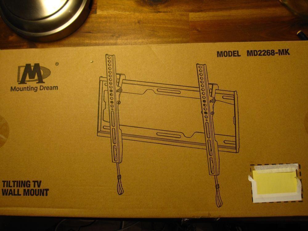 Mounting Dream MD2268-LK Tilt TV Wall Mount Bracket for most of 26 ...