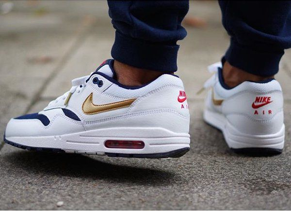 closeout nike air max 1 essential olympic usa 55c5f 47785