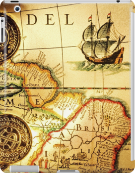 Soggy Treasure Map : soggy, treasure, Pirates, Treasure, HavenDesign, Maps,, Design