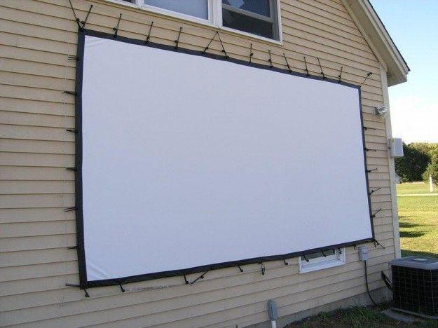 How To Set Up Your Own Outdoor Home Theater Digital Trends Diy Outdoor Movie Screen Outdoor Projector Diy Outdoor