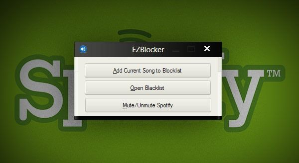 Want to block # Spotify ads? Look no further than EZBlocker