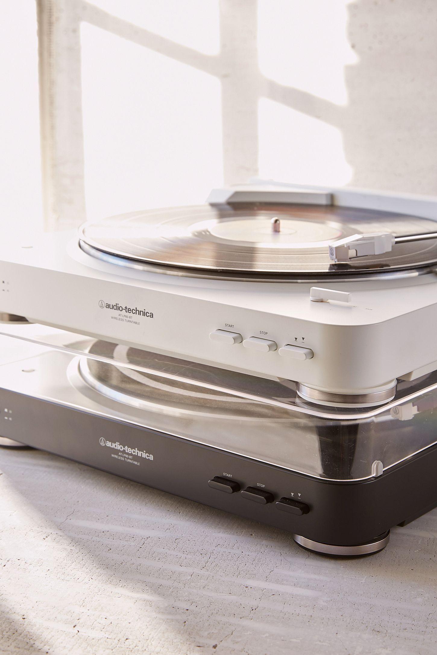 Slide View 5 Audio Technica White At Lp60 Bluetooth Record Player Bluetooth Record Player Vinyl Record Player Record Player