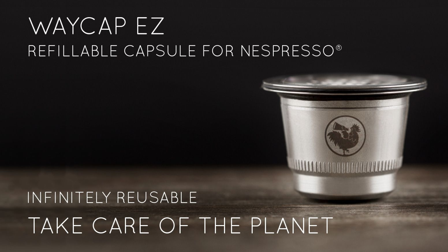 """Meet """"WayCap Ez"""", the new coffee capsule compatible with"""