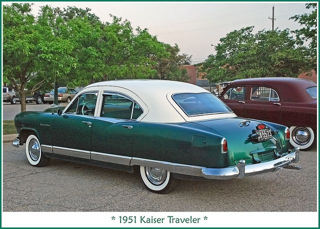 1951 Kaiser Traveler Classic Cars Classic Cars Trucks Unique Cars