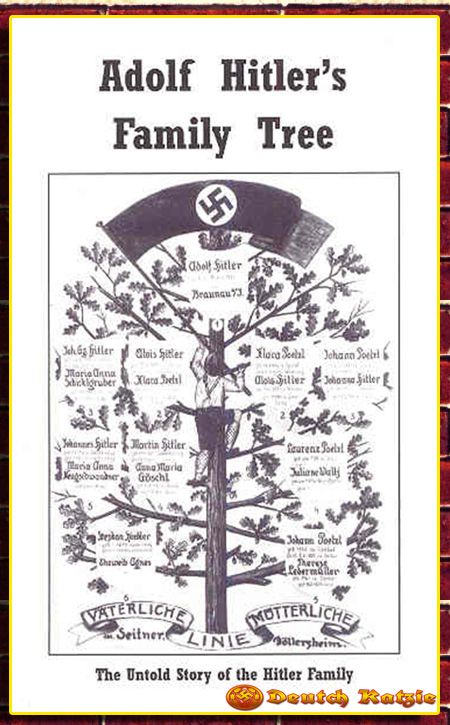 Adolf Hitler Stammbaum - Adolf hitler's family tree. | III ...